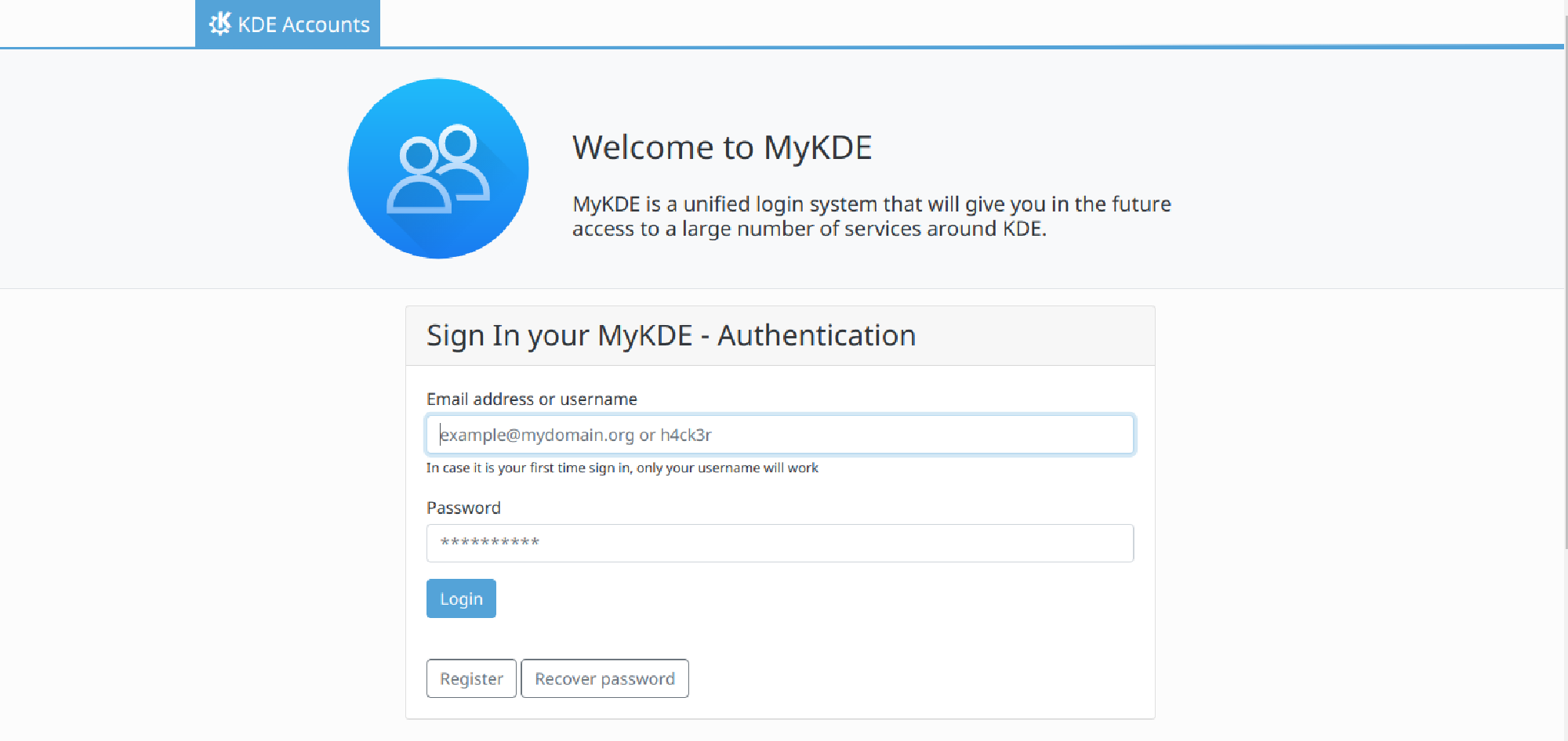 Featured image of post Announcing MyKDE